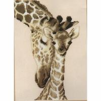 Vervaco  Famille de Girafe  0012183
