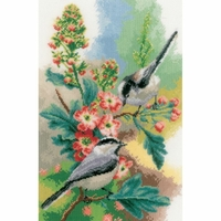 Mésange à la fleurs  0163024  VERVACO