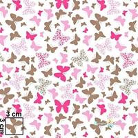 Tissu Papillons  00037
