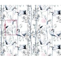 Tissu Grue japonaises   00038