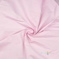 Tissu Coton uni rose clair  000510