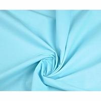 Tissu Coton uni Bleu turquoise clair  000512