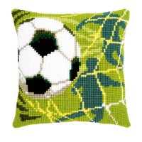Coussin point de croix Football - Vervaco PN-0150043