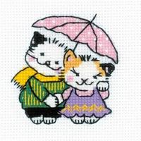 Ensemble sous la pluie  Riolis 1810