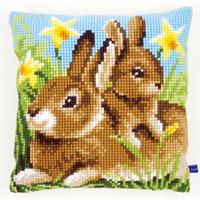 Mère et bébé lapin  0148231  Vervaco