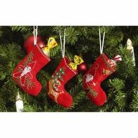 Trois Bottes de Noël 01-4214 Permin