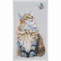 Chat et Papillon 0184322 Lanarte