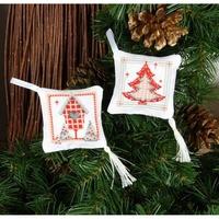 Deux Coussins Décoratif de Noël 0149547 Vervaco