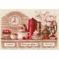 Heure du café 1874 Riolis