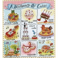 Sampler Dictionnaire de Gourmandises XDO3 Bothy Threads
