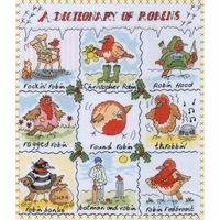 Sampler Dictionnaire de Rouges Gorges   XDO8  Bothy Threads