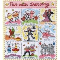 Sampler Dictionnaire les Dances   XDO16  Bothy Threads