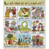 Sampler Dictionnaire  Des Jardins  XD10 Bothy Threads