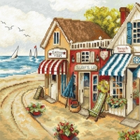 Boutique au bord de Mer 905 Letistitch  Kit  point de croix