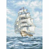 Navire 907 Letistitch Kit point de croix compté
