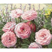 Floraison de roses  952 Letistitch  Kit point de croix