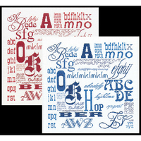 Sampler ABC - Kit lin - Thea Gouverneur 3045
