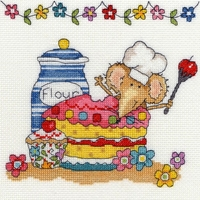 Souris pâtissière  XSW7  Baking Mouse - Bothy Threads -