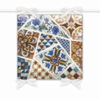 Coussin Mosaic  1871  Riolis