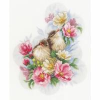 Oiseaux sur une branche  0185003 lanarte