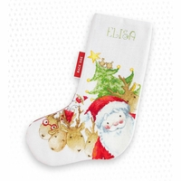 Le Père Noël et ses rennes  PM1225 Luca-S