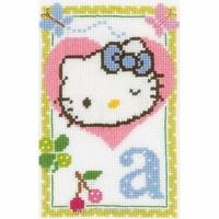 Hello Kitty lettre A  0149004 Vervaco