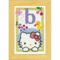 Hello Kitty letre B  0149005  Vervaco