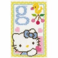 Hello Kitty lettre G  0149531 Vervaco