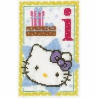 Hello Kitty lettre I  0149533 Vervaco