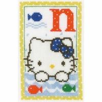 Hello Kitty  Lettre N  0149545  Vervaco