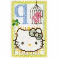 Hello Kitty  Lettre Q  0149555  Vervaco
