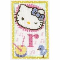 Hello Kitty  Lettre R  0149556  Vervaco