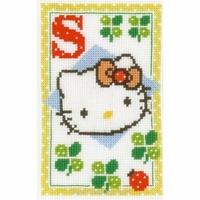 Hello Kitty  Lettre S  0149581  Vervaco
