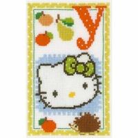 Hello Kitty  Lettre Y  0149620  Vervaco