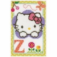 Hello Kitty  Lettre Z  0149621  Vervaco