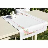 Chemin de Table Fleurs de Pommiers  FM010 Luca-S