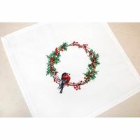 Nappe de Table  oiseau de Noël  FM015  Luca-S