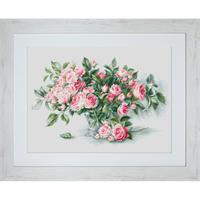 Bouquet de Roses roses  LUCA-S  BL22866