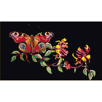 Butterfly-Honeysuckle - Kit Aïda noire - Thea Gouverneur 439-05