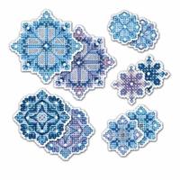 Décorations de flocons de neige  1889AC  Riolis