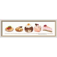 Assortiment de gâteaux - Kit Aïda - Thea Gouverneur 3050A