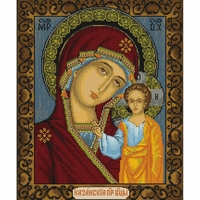 Icône Notre-Dame de Kazan  B436  Luca-S