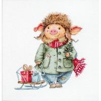 Cochon de Noël  B1160  Luca-S