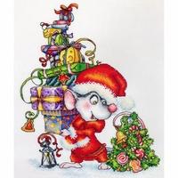 Santa Mouse  LanSvit  D058