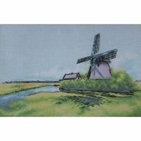 Moulin à vent aux Pays-Bas  A007  LanSvit