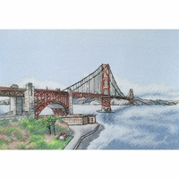 The Golden Gate Bridge A010  LanSvit