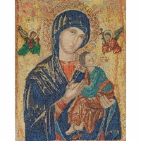 Icône Notre-Dame du Perpétuel Secours  551A  Thea Gouverneur