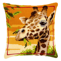 Coussin à broder - Girafe - Vervaco PN-0145345