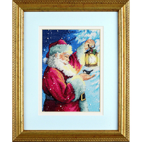 Ami à plume du Père Noël - Dimensions 70-08831