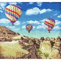 Ballons au-dessus du Grand Canyon  961  Letistitch